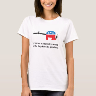 pipeline route T-Shirt
