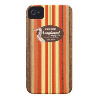 Pipeline Surfboard Hawaiian iPhone 4 Cases
