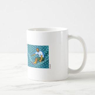 Pipeline Surfer ©Warren Slater Classic White Coffee Mug