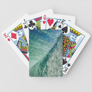 Pipeline Wave Bicycle Playing Cards