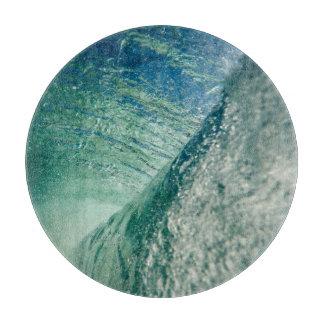 Pipeline Wave Cutting Board