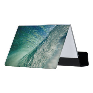 Pipeline Wave Desk Business Card Holder