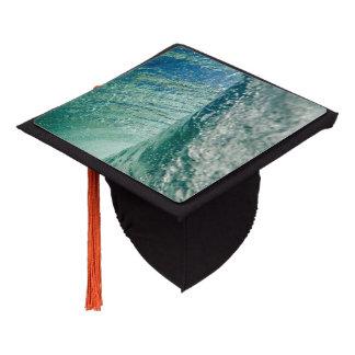 Pipeline Wave Graduation Cap Topper