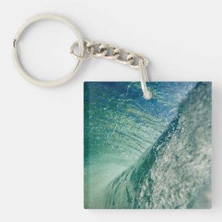 Pipeline Wave Keychain
