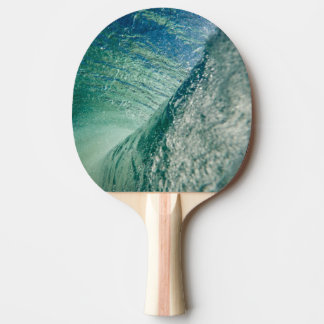 Pipeline Wave Ping Pong Paddle