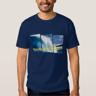 Pipeline Waves Surfing Graphic Shirt