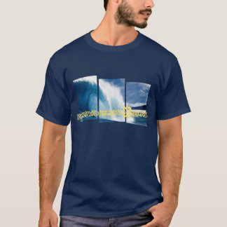 Pipeline Waves Surfing Graphic T-Shirt