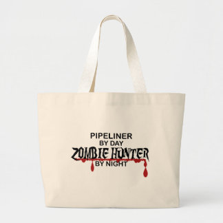 Pipeliner Zombie Hunter Large Tote Bag