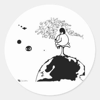 Pipeman - CUART Classic Round Sticker
