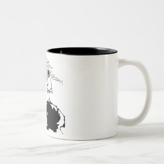 Pipeman - CUART Two-Tone Coffee Mug