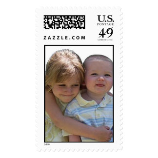 Piper And Aidan Postage Stamps