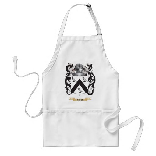 Piper Coat of Arms (Family Crest) Adult Apron
