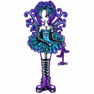 """""""Piper"""" Cute TuTu Tattoo Fairy Photo Sculpture"""