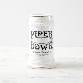 Piper Down Stein - 3D's Mugs