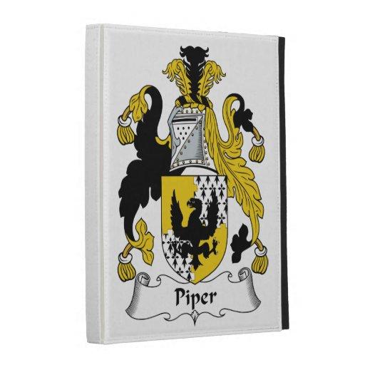 Piper Family Crest iPad Folio Cover