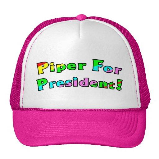 Piper For President Trucker Hat