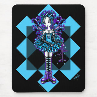 """Piper"" Harlequin Dragonfly Fairy Mouse Pad"