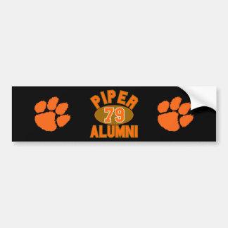Piper High Class of 1979 Alumni Reunion Car Bumper Sticker