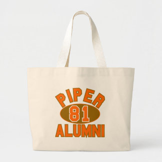 Piper High Class of 1981 Alumni Reunion Tote Bag