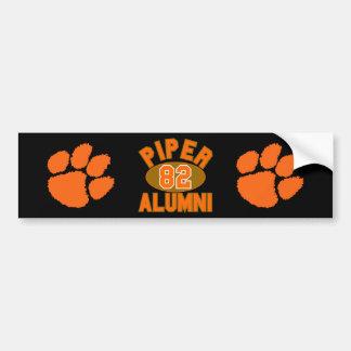 Piper High Class of 1982 Alumni Reunion Bumper Sticker