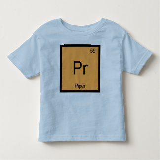 Piper Name Chemistry Element Periodic Table Toddler T-shirt