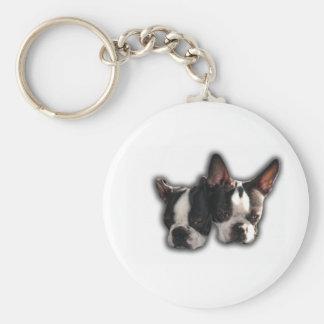 piper-pinocchio pair basic round button keychain