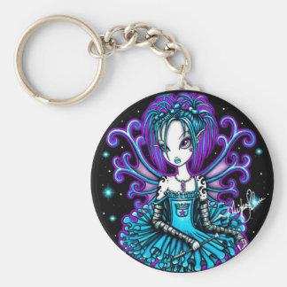 Piper Teal TuTu Fairy Keychain