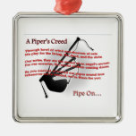 Piper's Creed Christmas Tree Ornament