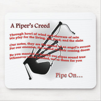Piper's Creed Mouse Pad