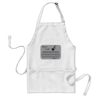 Piper's Creed (Stone) Adult Apron