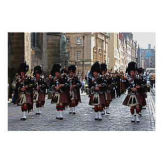 Pipes and Drums Poster
