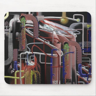 PIPES DUPLICATED MOUSE PAD