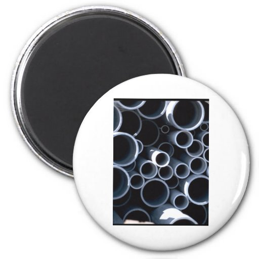 Pipes Round Magnet