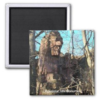 Pipestone, imán del monumento del manganeso