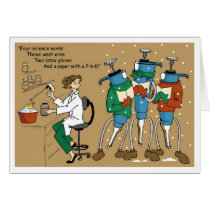 Pipet Carolers Card