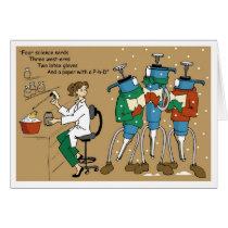 Pipet Carolers Card