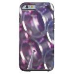 Pipeta y placas de Petri con los líquidos Funda De iPhone 6 Tough