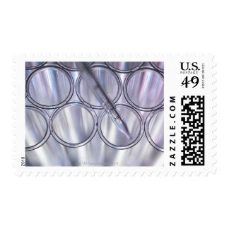 Pipette in Test Tube Stamps