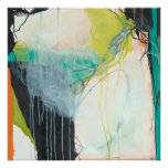 Pipevine - abstract expressionism art poster