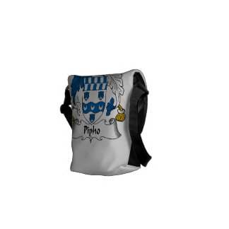 Pipho Family Crest Courier Bags