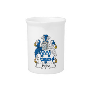 Pipho Family Crest Pitchers