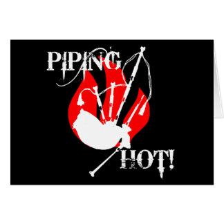 Piping Hot! Greeting Card