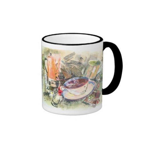 """""""Piping Hot"""" Coffee Mug"""