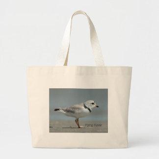 Piping Plover Jumbo Tote Bag
