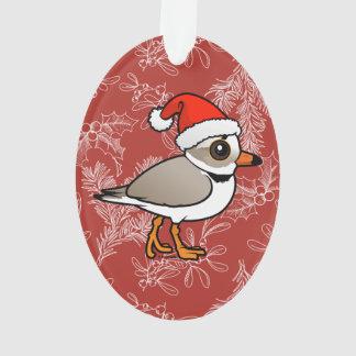 Piping Plover Santa