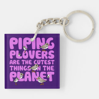 Piping Plovers are the Cutest Things on the Planet Keychain