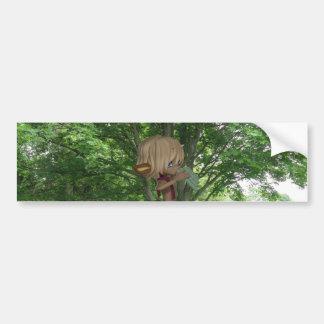 Piping Satyr Bumper Sticker