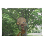 Piping Satyr Cloth Placemat