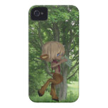 Piping Satyr iPhone 4 Cover