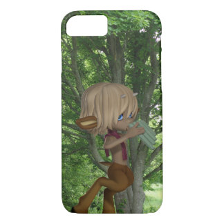 Piping Satyr iPhone 7 Case